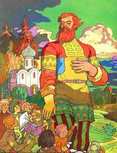 Картинка к книге Никита Кожемяко Русские народные