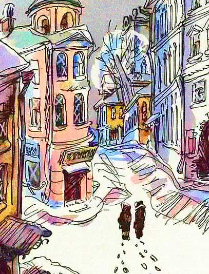 Картинка к книге Арбузный переулок Виктор Драгунский