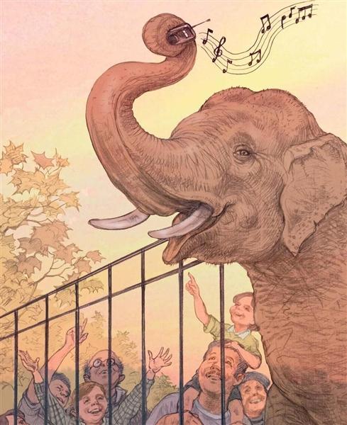Слон и радио Виктор Драгунский